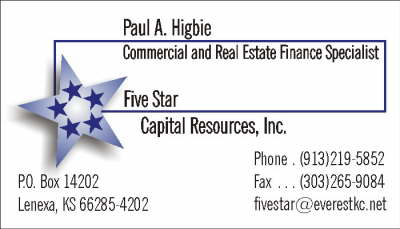 five star capital resources bus card